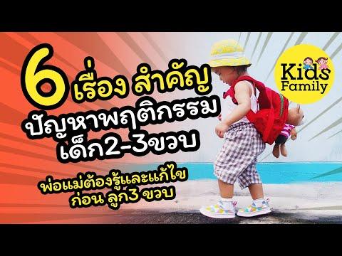 6 เรื่องสำคัญ ปัญหาพฤติกรรม เด็ก23ขวบ ที่พ่อแม่ต้องเจอ รีบแก้ด่วน| วิธีเลี้ยงลูก | Kids Family