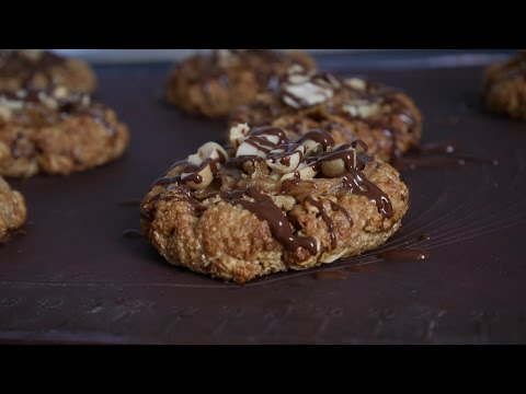 cookies-façon-snickers-|-vegane