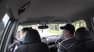 Урок Вождения для новичков без стажа Управления на Автомате.
