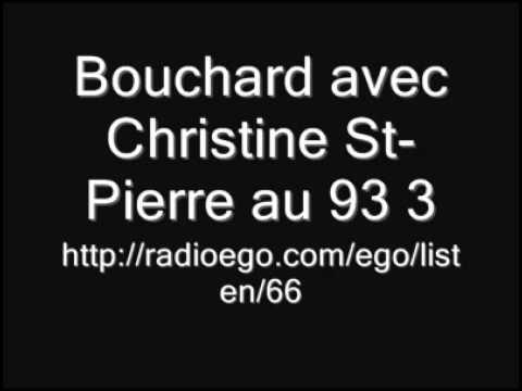 Christine St-Pierre:Une femme ça ment pas!