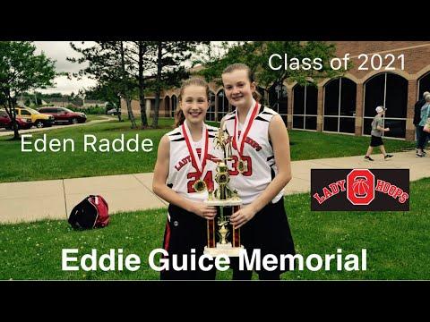 Eden Radde, Ohio Lady Hoops, 8th Grade Eddie Guice Memorial 2017