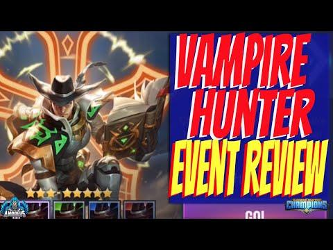 Dungeon Hunter Champions: Vampire Hunter Event Review