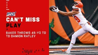 Baker Bombs 46-Yd TD on Opening Drive!