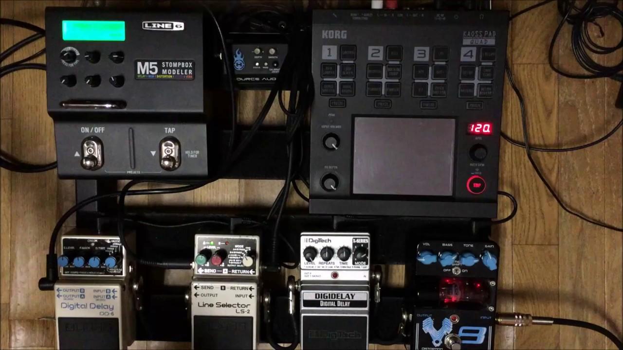 korg kaoss pad quad guitar ambient youtube. Black Bedroom Furniture Sets. Home Design Ideas