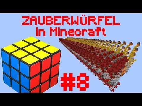 Zauberwürfel in Minecraft Folge 8: Fertigstellung der Festplatte