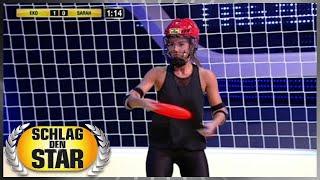 Spiel 7 - Frisbee-Duell - Schlag den Star