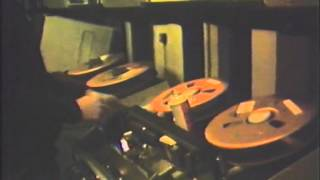 BBC TVC Quad Edit Machine Room 1981