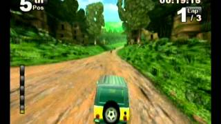 Jeep Thrills Wii gameplay