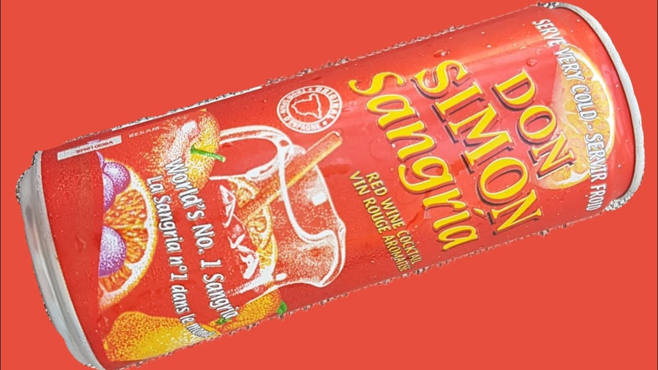 Sangria In A Can From Spain Don Simon Sangria Youtube