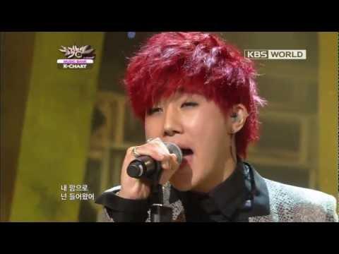 [Music Bank K-Chart] Kim Sung-kyu - 60 Sec (2012.11.23)