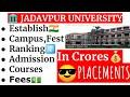 Jadavpur University (Kolkata)   WBJEE   Placement   Cutoff   College Fees   Hostel and Campus   Fest