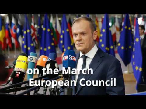 President Tusk on the March European Council