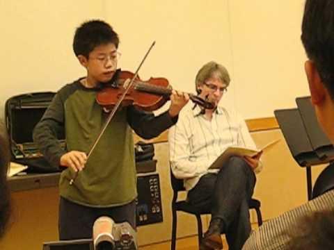 Jonathan Carney's Master Class with Deng Phua 9-25-2008