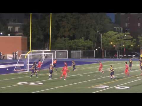 McGill goal VS. Queens #21 Ralph Khayat