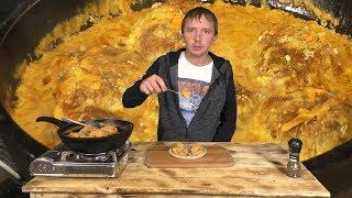 Ежики / Офигенный соус / в сковороде