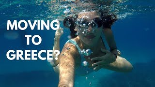 MOVING TO GREECE? 🤔& GREEK ISLANDS VLOG