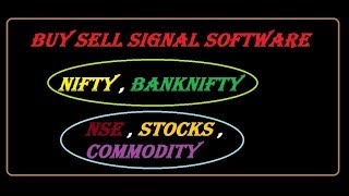 buysellsignal.co intraday trading technical analysis software buy sell signal nse nifty commodity.