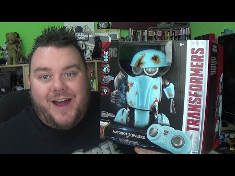 Transformers The Last Knight Autobot Squeaks Remote Control Toy Unboxing Review