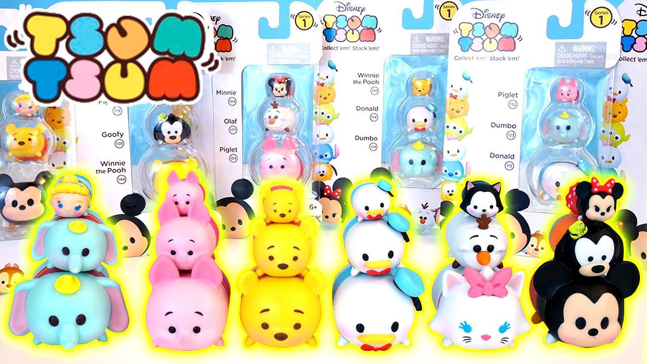 Disney Tsum Tsum Vinyl Collectible Mini Figures Cute