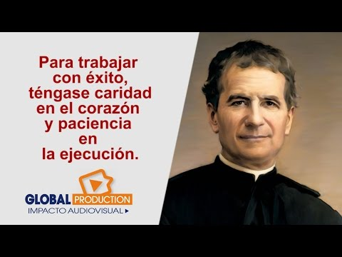 Frases Y Pensamiento De Don Bosco Youtube