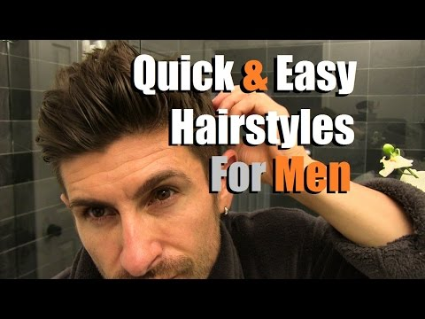 2-quick-&-easy-men's-hairstyles-that-look-awesome!-men's-hair-tutorial