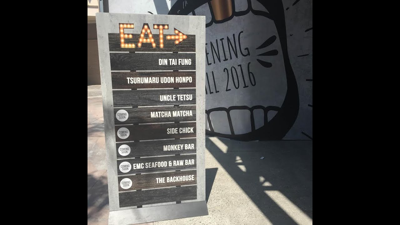 Asian Food Alley Takes Over Westfield Santa Anita Youtube
