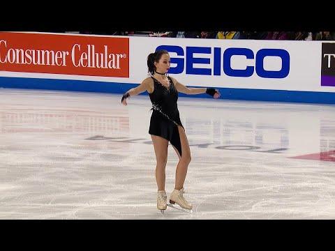 Короткая программа. Женщины. Skate America. Гран-при по фигурному катанию 2019/20