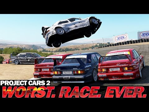 Dirtiest race ever in Project Cars 2 Multiplayer? |
