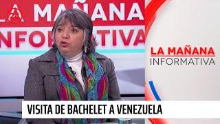 """Directora del Centro de DD.HH: """"La visita de Michelle Bachelet a Venezuela debió haber sido antes"""""""