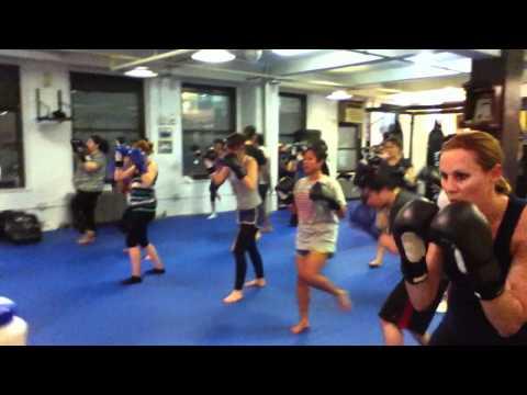 Manhattan Kick Boxing classes