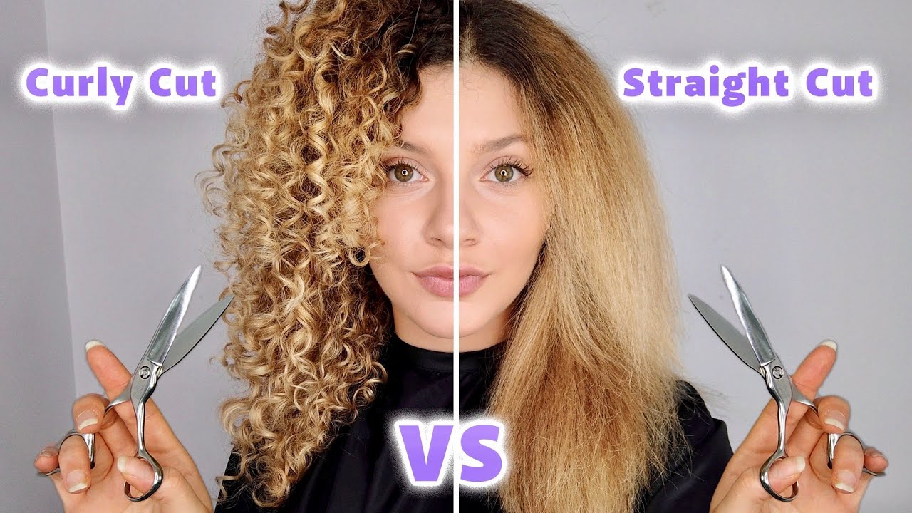 DRY CURLY HAIRCUT VS STRAIGHTENED HAIRCUT ON MY CURLY HAIR (pros and cons)