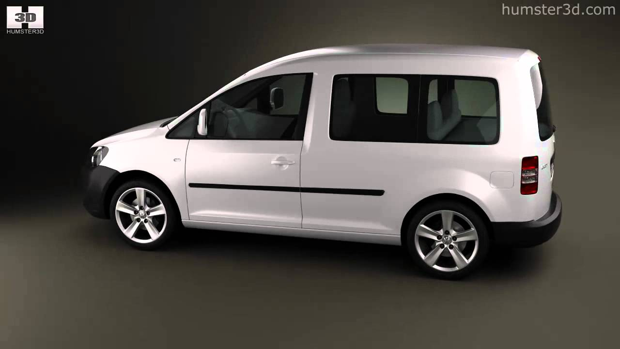 volkswagen caddy 2011 by 3d model store. Black Bedroom Furniture Sets. Home Design Ideas