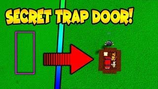 *SECRET* TRAP DOOR | (Tutorial) Build a Boat for Treasure ROBLOX