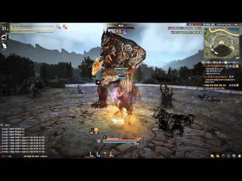 Black Desert Online Advanced Summoned Field Boss Party Version