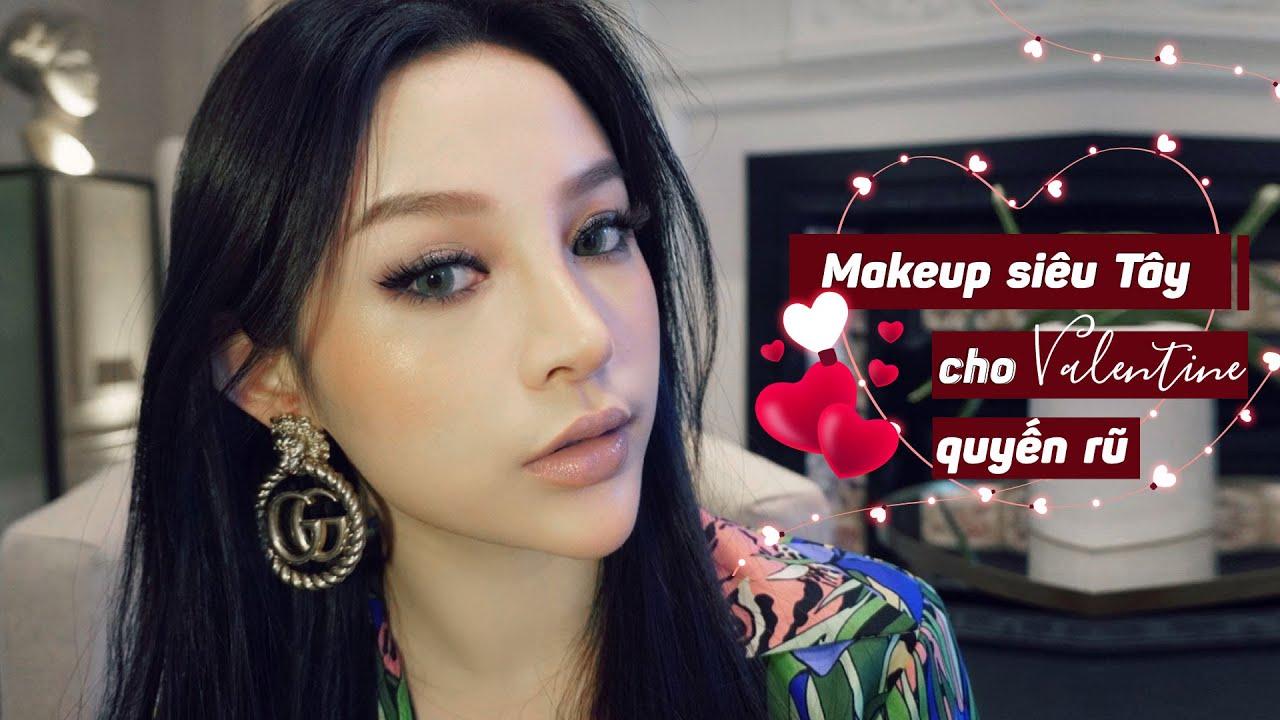 Hướng dẫn makeup siêu tây cho Valentine quyến rũ