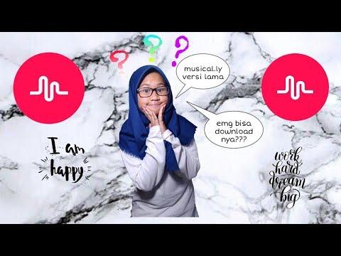 Musical.ly ku kembali😮😮 cara dwonload apk musical.ly versi lama😱😱!! Gratis  dan mudah