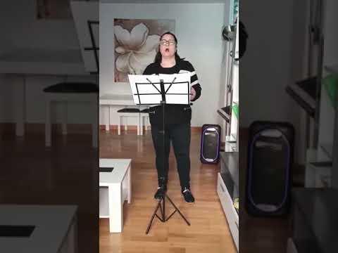 Vissi d'arte cantado por Begoña de Vicente