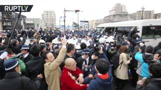 Takeshima island day goes wrong  Japanese clash with S Koreans over territorial claims