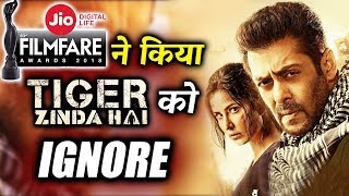 Salman Khan's Tiger Zinda Hai IGNORED At Jio Filmfare Awards 2018