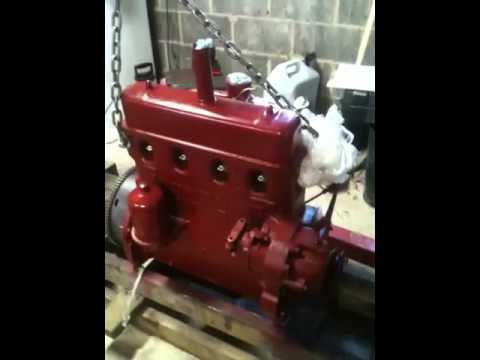 Farmall Super A, 130, 140 hybrid engine