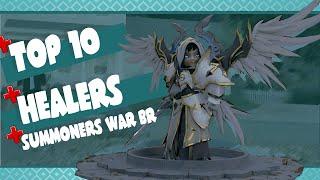 Baixar Top 10 Healers (Curandeiros) - Summoners War BR