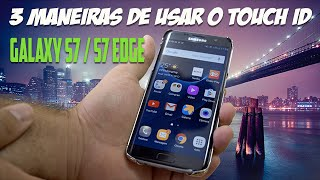 3 Maneiras de usar o leitor de impressão digital no Galaxy S7 / S7 edge ( Touch ID )