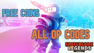 ALL *OP* WORKING SPELLBLADE LEGENDS CODES | Roblox Codes 2020