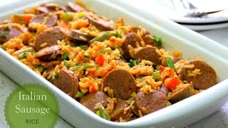 Savory Italian Sausage Rice