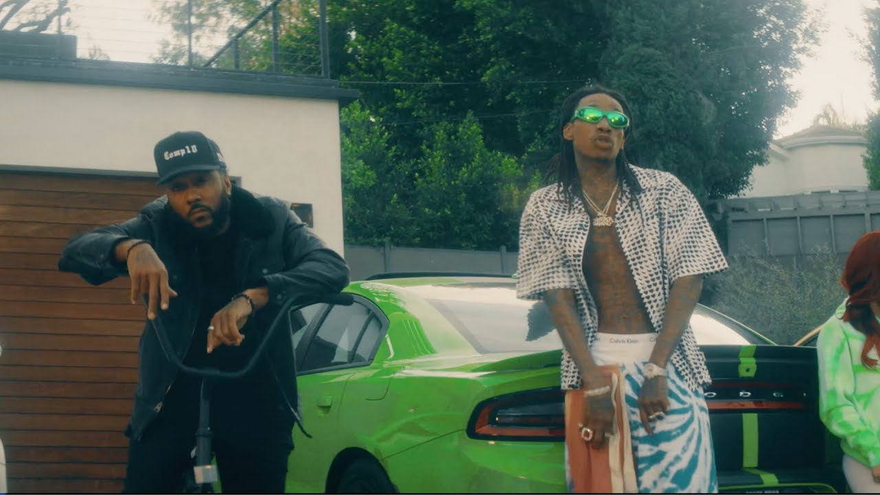 "Problem Lights Up With Wiz Khalifa For '4 The Low"" Music Video"