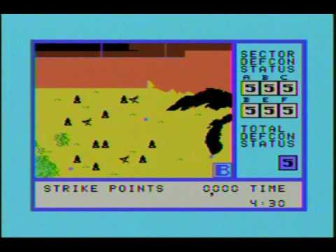 War Games Review ColecoVision