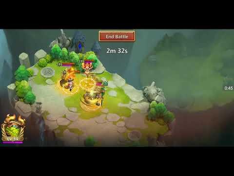 Castle Clash Anibus + Demogordon Vs Paladin Must Look