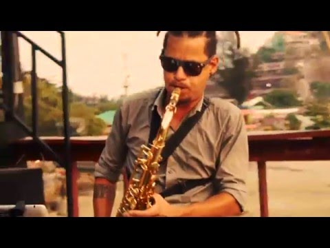 Sunset Sax in Phi Phi Islands by Ricardo teque teque