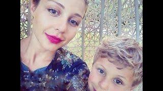 Тина Кароль и ее сын