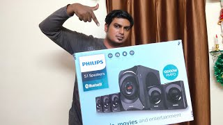 Philips SPA8000B home theatre unboxing